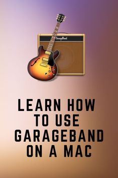 This step by step beginners guide on how to use GarageBand for Mac will help you with the basics of this powerful recording and editing software. Recorder Music, Music Guitar, Playing Guitar, Music Songs, Home Recording Studio Equipment, Music And The Brain, Music Studio Room, Music Software, Guitar Tutorial