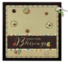 Crafts Direct Project Idea: Count Your Blessings Magnetic Board