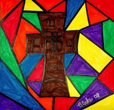 Check out student artwork posted to Artsonia from the First Communion Stained Glass project gallery at St. Auction Projects, Art Projects, Cox And Cox, Catholic School, Stained Glass Projects, First Holy Communion, Art Lesson Plans, Art Portfolio, Toy Boxes