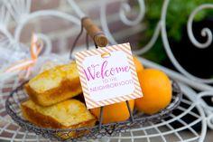 Neighbor Welcome Basket + Orange Bread Recipe