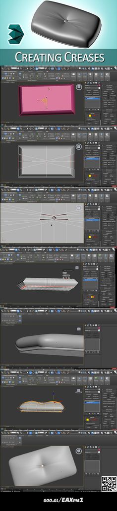 https://www.youtube.com/watch?v=w2IdsumelEY #3dsmax #crease #leather #architecture #video #tutorial