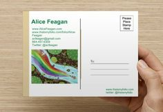 Postcard Promotion for illustrator Alice Feagan Illustration
