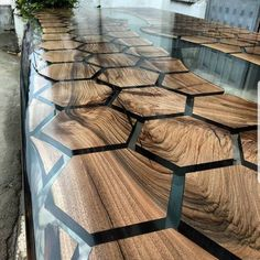 32 Awesome Resin Wood Table Design - For several reasons, resin furniture has become a popular alternative to wooden furniture created for outdoor use. It looks similar to painted wood, b. Resin Furniture, Furniture Design, Furniture Dolly, Steel Furniture, Wooden Furniture, Kitchen Furniture, Wood Resin Table, Wooden Table Top, Slab Table