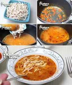 Sarımsaklı Tavuk Çorbası Tarifi