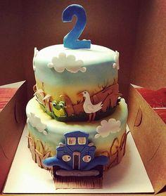 Little Blue Truck Cake Kit by CakeFreak on Etsy