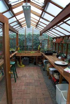 Smart Garden Shed Organization Ideas 12 Backyard Greenhouse, Greenhouse Plans, Greenhouse Shelves, Greenhouse Benches, Smart Garden, Home And Garden, Green House Design, Greenhouse Interiors, Hot House