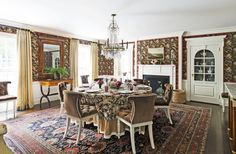 What do you think of this colonial dining room design? Coastal Virginia Magazine's Best Kitchen & Bathroom Remodeler#dogoodwork #kitchendesign #hgtv #kitchen #bathroom #homeimprovement #home #remodeling #remodel