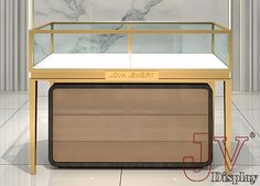 Choose best jewelry store display cases glass top suppliers and best glass top display case manufacturers. Jova Display Furniture co. offers clients affordable modern shop furniture for jewelry watch,cosmetic,clothing and more. Jewellery Showroom, Jewellery Storage, Jewellery Display, Diy Jewellery, Jewelry Store Displays, Jewelry Stores, Jewelry Shop, Jewelry Drawing, Jewellery Sketches
