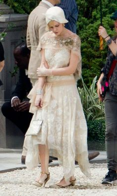 WOW: Carey Mulligan And Leonardo DiCaprio On The Set Of Great Gatsby