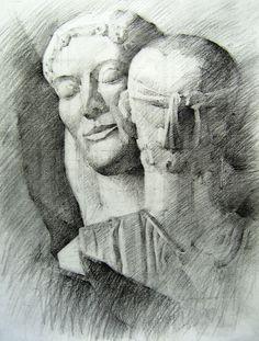 σχέδιο Drawing Sketches, Drawings, Artwork, Painting, Work Of Art, Auguste Rodin Artwork, Painting Art, Sketches, Artworks