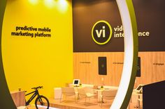 The video intelligence Mobile World Congress stand 2017.
