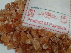 Salzbrocken, 25kg, rotes Salz, Sackware