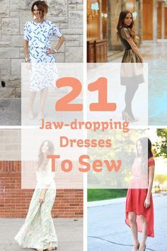 21 Jaw-dropping Dresses to Sew