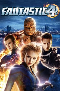 Jessica Alba, Michael Chiklis, Chris Evans, and Ioan Gruffudd in Fantastic Four Streaming Movies, Hd Movies, Movies To Watch, Movies Online, Movies And Tv Shows, Movie Tv, Hd Streaming, Movies Free, Film D'action