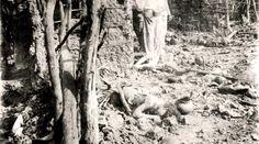 Cadáveres de vítimas da Guerra de Canudos