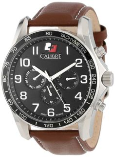743577443cc Calibre Men s SC-4B1-04-007.1 Buffalo Round Stainless Steel 24-Hour