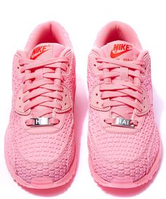nike air max 90 womens shoes all pink red lipstick