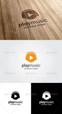 Play Music Logo Template - GraphicRiver Item for Sale