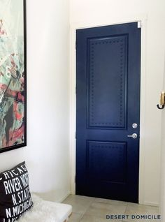 Love this Big Bang Theory inspired door! Desert Domicile is one of my favorites!