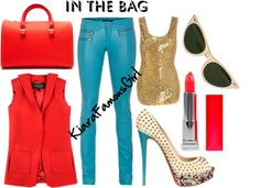 """IN THE BAG : VICTORIA BECKHAM EDITION"" by kiarafamousgirlfashion on Polyvore"