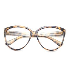 876c8408e0c1 PenSee Womens Fashion Oversized Clear Lens Round Circle Eye Glasses  Eyeglasses For Women