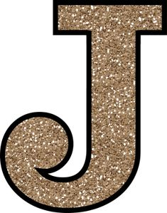 Glitter Without The Glue! Free Digital Printable Alphabet to Download: Glitter Letter J To Print