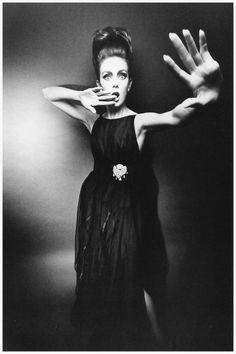 Ina Balke by Jeanloup Sieff, Harper's Bazaar, 1962
