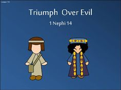 """The Book of Mormon Seminary Helps for the LDS Youth: Lesson 15 """"Triumph Over Evil"""" 1 Nephi 14"""