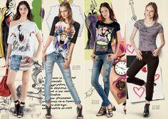 Colcci aposta nos personagens Disney para estampar camisetas e vestidos.