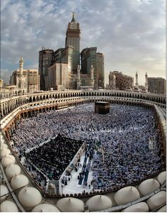 Beautiful photography of Kaaba, Mecca.
