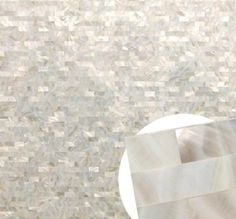 Mother of pearl wallpaper. Wow,