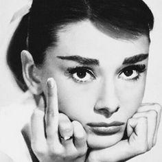 Aww Audrey Hepburn