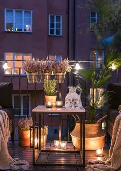 Warm welcome to a wonderfully fine and bright accommodation at the best ad … - All About Balcony Small Balcony Design, Small Balcony Decor, House With Balcony, Small Patio, Patio Design, Balcony Ideas, Apartment Balconies, Diy Bedroom Decor, Home Decor