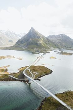 Lofoten Island Roads Instagram @ellolandscape @ellotravel #norway #outdoors #mountains #lofoten