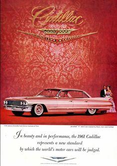 1960s Vintage Cadillac Ad
