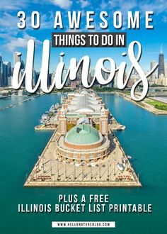 Looking for things to do in illinois? this illinois bucket list will fill your entire summer and then some. from cloud gate to soldier field, Route 66 Attractions, Weekend Trips, Weekend Getaways, Day Trips, Usa Travel, Travel Money, Hawaii Travel, Midwest Vacations, Beach Vacations