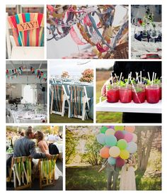 Book de ideas, ¡¡una boda llena de color!! /Colourful wedding