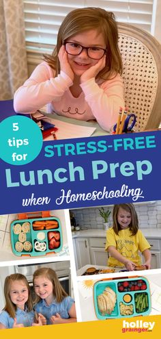 The children are home indefinitely so use these 5 tips for stress-free lunch prep. You're sure to feel less like a short order cook and more like a homeschooling guru, all while making healthy lunches your kids will love. Toddler Meals, Kids Meals, Homeschool Supplies, Healthy Lunches For Kids, School Lunch Box, Prepped Lunches, Lunchbox Ideas, Kids And Parenting, Parenting Tips
