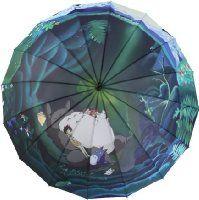New Japanese Anime Umbrella Hayao Miyazaki Totoro Long-handled Large Windproof Sunny Umbrella