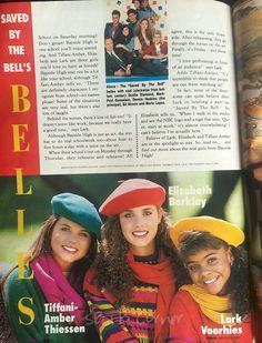SBTB Corner: TBT Bayside High, Zack Morris, Elizabeth Berkley, Saved By The Bell, Corner