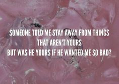 lyric, pacify her, and Lyrics image