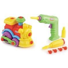 Little Tikes� Little Builder - Train for $16.99 #littletikes