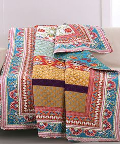 Another great find on #zulily! Thalia Quilted Throw #zulilyfinds