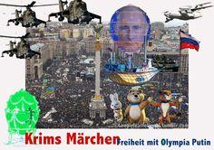 Krims Märchen - Freiheit mit Olympia Putin.