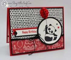 Stampin' Up! Party Pandas Sneak Peek for the Happy Inkin' Thursday Blog Hop