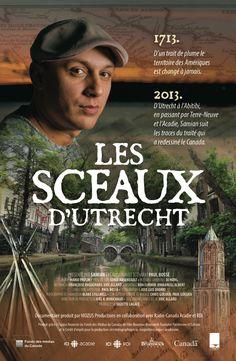 Film poster . Les sceaux d'Utrecht