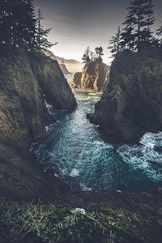 "natura-e: "" lsleofskye: ""Samuel H Boardman State Park "" - Nature blog ^^ """