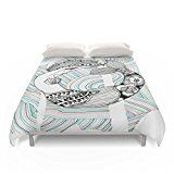 """mermaidhomedecor - Mermaid Duvet Cover Full: 79"""" x 79"""" $99.00 Full Duvet Cover, Duvet Covers, Mermaid Bedding, Mermaid Board, Mermaid Home Decor, Mermaid Images, Decorating Your Home, Toddler Bed, Decorative Boxes"""