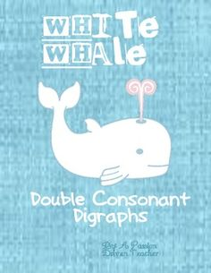 This is an activity to help students working on making words with two consonant digraphs. I created mats that have a two consonant digraph on them . Consonant Digraphs, Making Words, White Whale, Teacher Notebook, Teaching Phonics, Struggling Readers, Baby Swimming, Create Words, Word Study