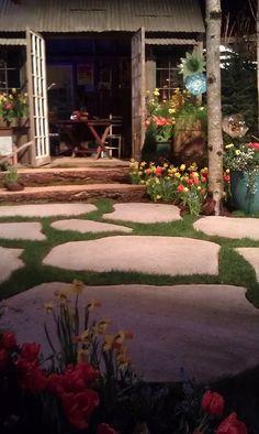 Large Pavers Outdoor Rooms, Outdoor Living, Outdoor Ideas, Backyard Ideas, Outdoor Decor, Garden Ideas, Large Pavers, Concrete Pavers, Lawn And Garden